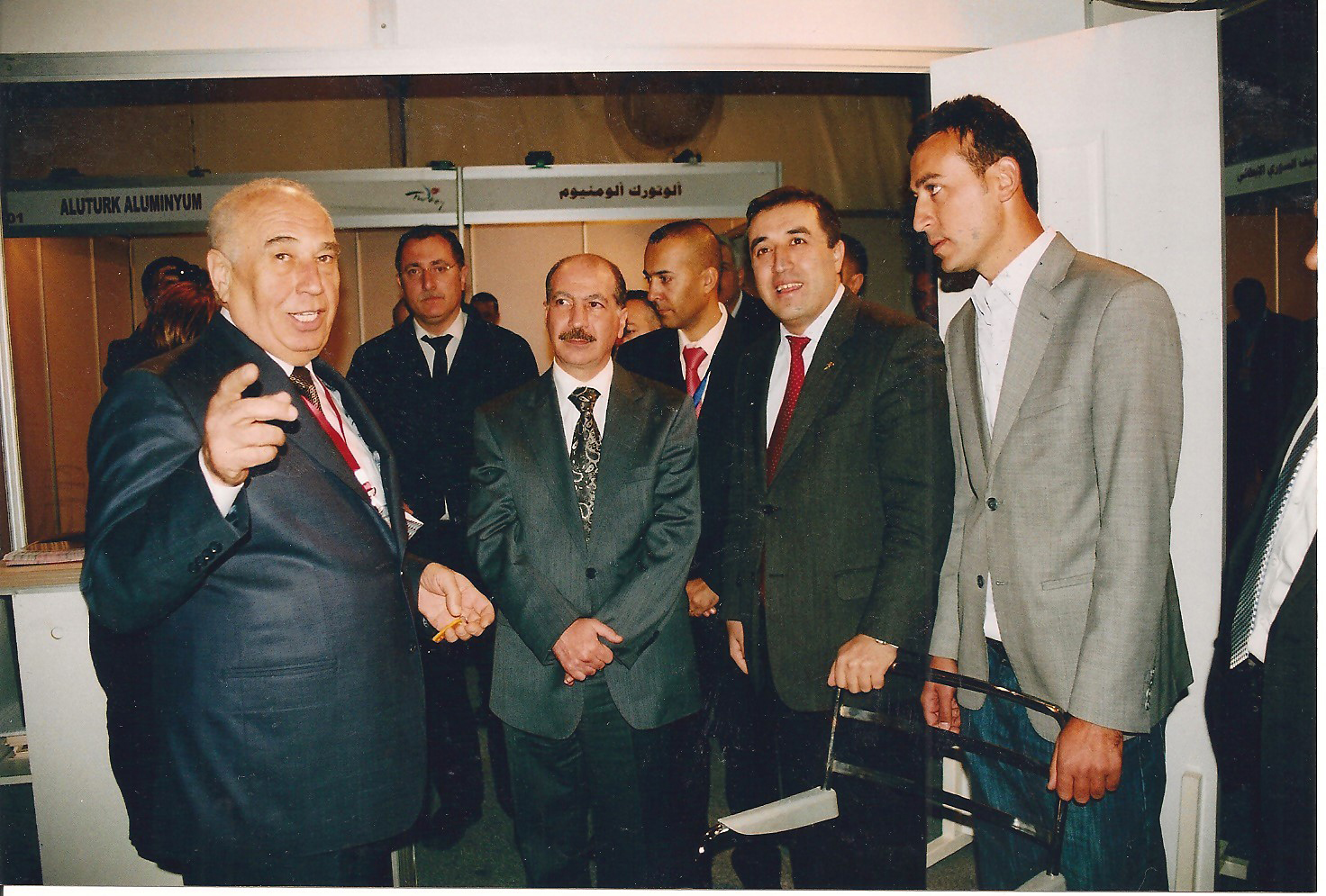 SYRIA TRADE MINISTER COMING OUR FAIR STAND